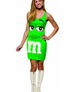 Teen M&M Green Tank Dress