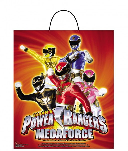 Power Ranger Megaforce Essential Treat Bag