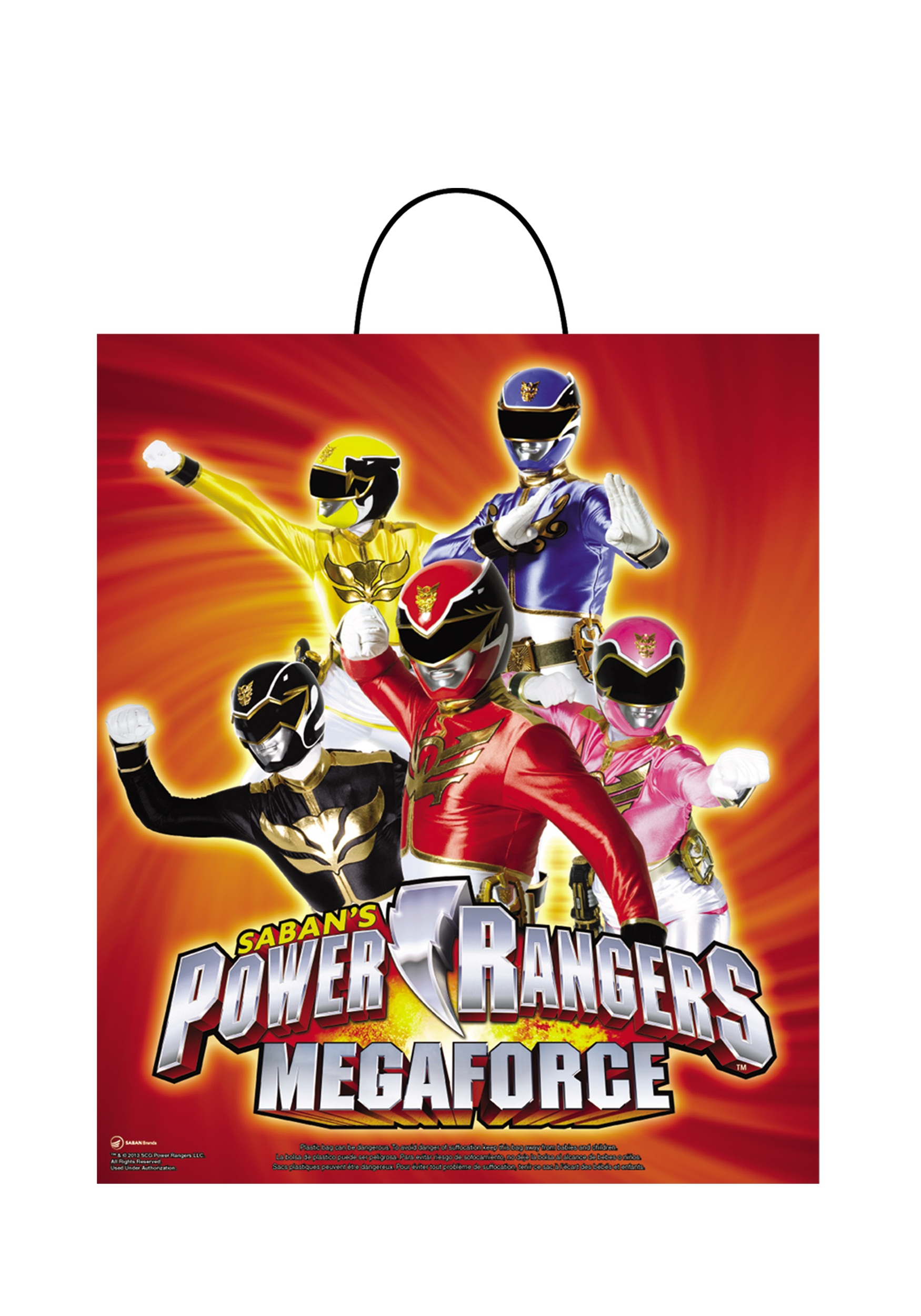 power ranger megaforce essential treat bag - halloween costume ideas