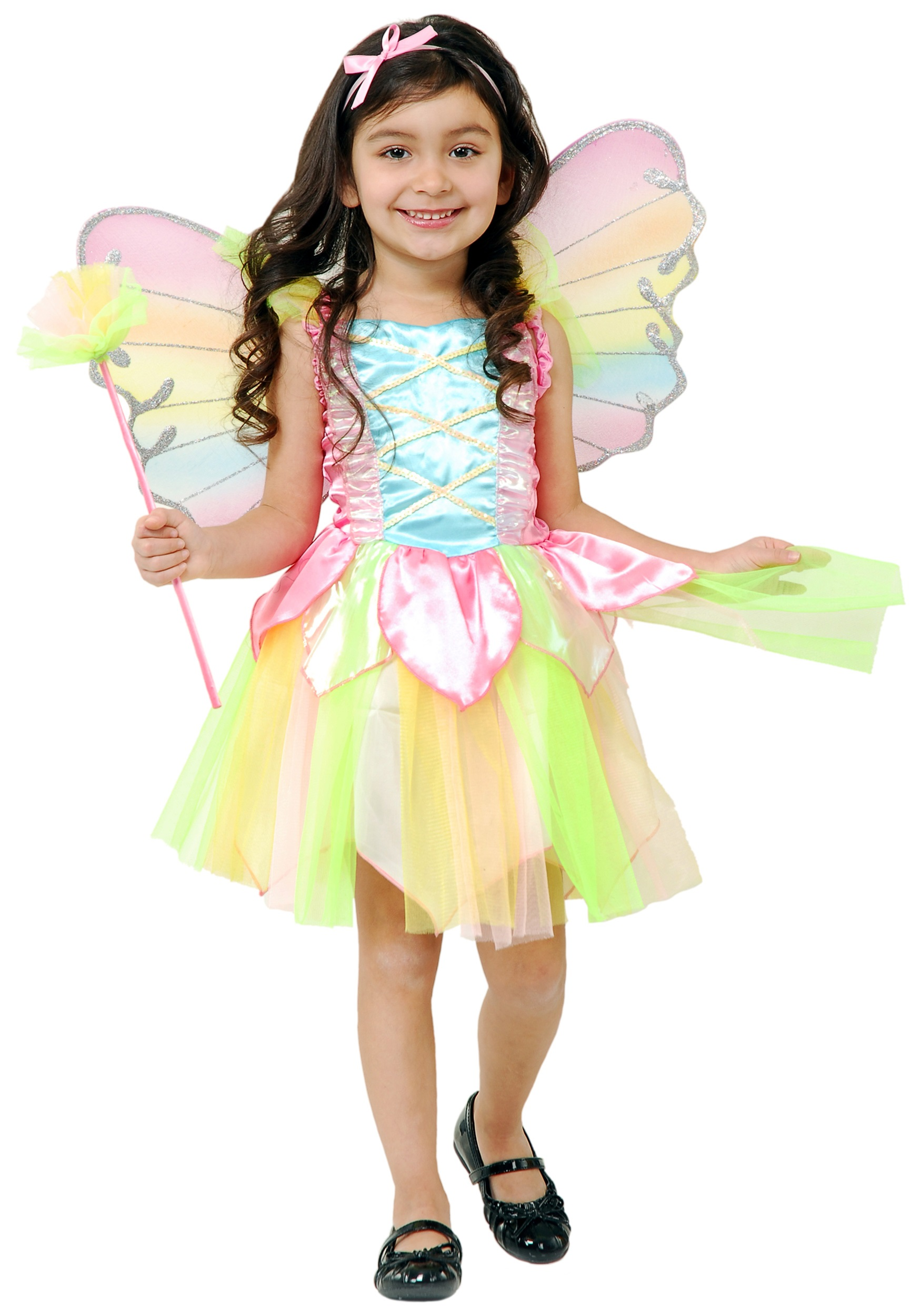 Toddler Rainbow Fairy Costume  sc 1 st  Halloween Costumes & Toddler Rainbow Fairy Costume - Halloween Costume Ideas 2018