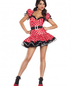 Plus Size Flirty Mouse Costume