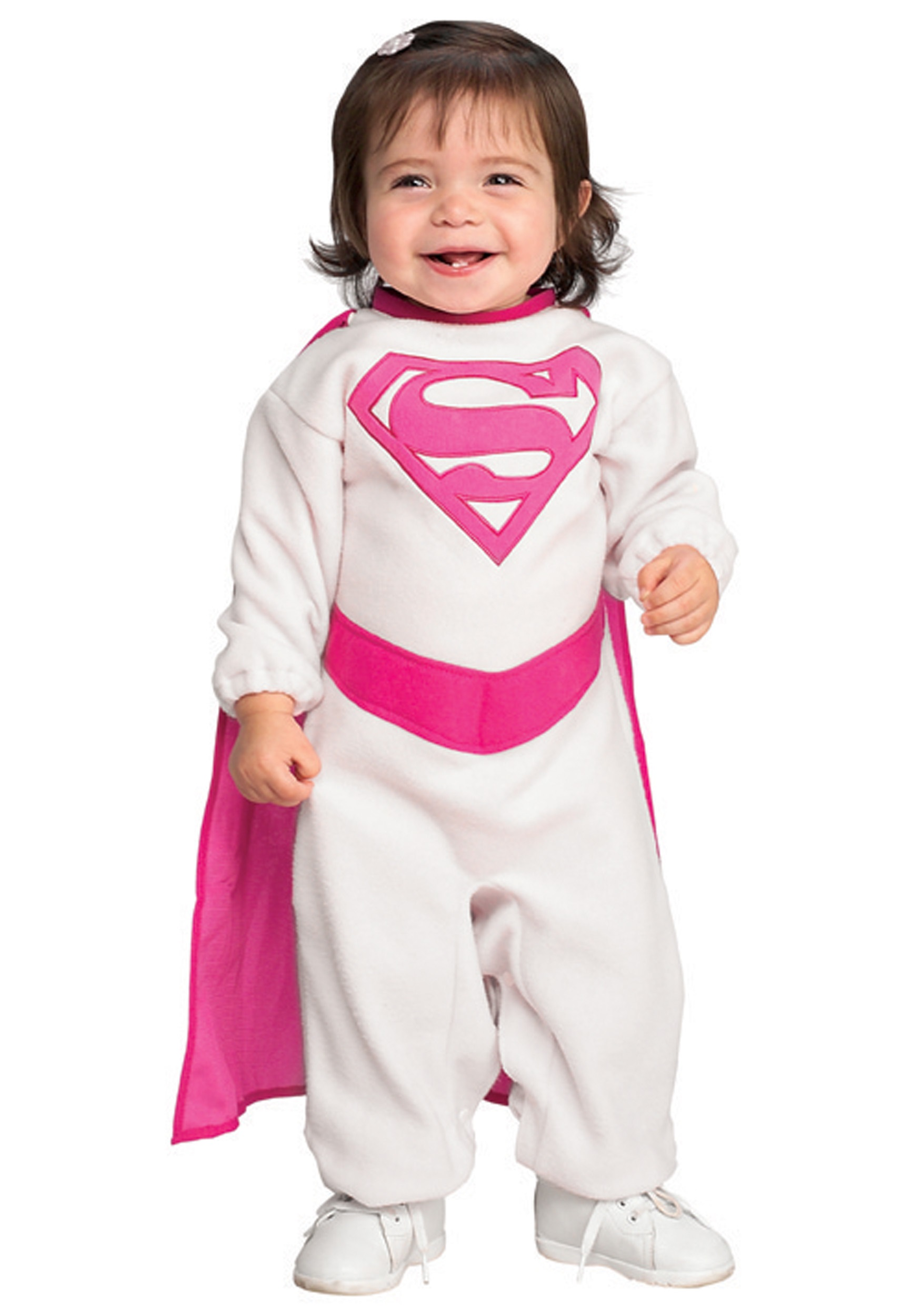 infant pink supergirl costume - halloween costume ideas 2018
