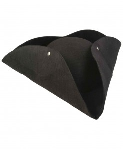 Deluxe Tricorn Pirate Hat
