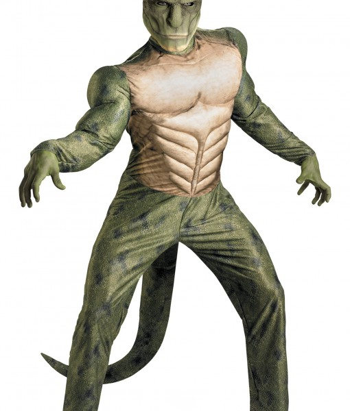 Adult Lizard Muscle Costume
