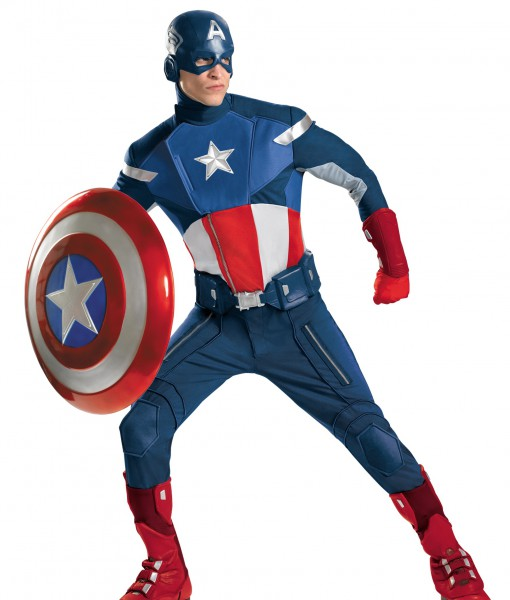 Avengers Replica Captain America Costume