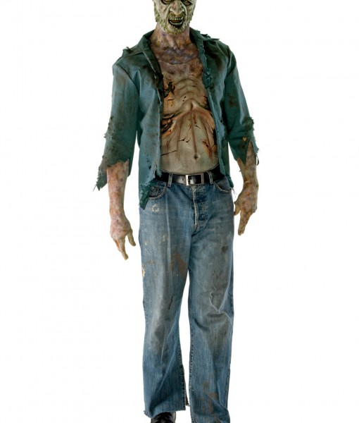 Deluxe Decomposed Zombie Costume