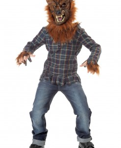 Kids Deluxe Blue Werewolf Costume