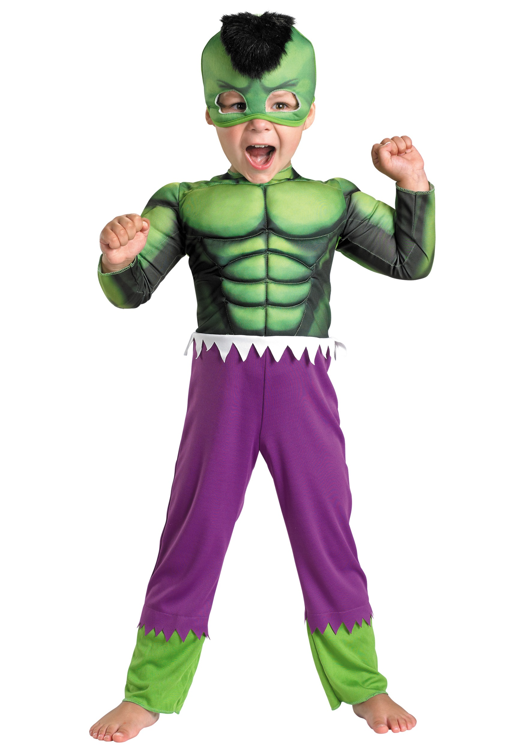 Toddler Hulk Muscle Costume Halloween Ideas