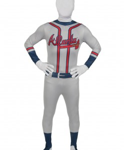Adult Atlanta Braves Skin Suit