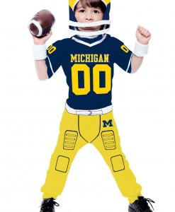 Toddler University of Michigan Football Costume
