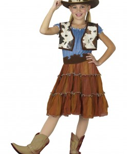 Kids Cowgirl Costume