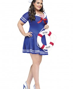 Plus Size Anchors Away Costume