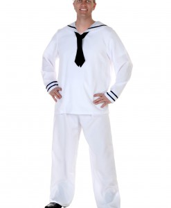 Plus Size Men's Sailor Costume
