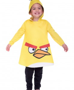 Toddler Angry Birds Yellow Bird Costume