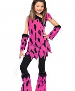Girls Dino Diva Costume