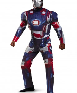 Plus Size Deluxe Iron Patriot Costume