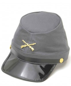 Confederate Kepi Hat