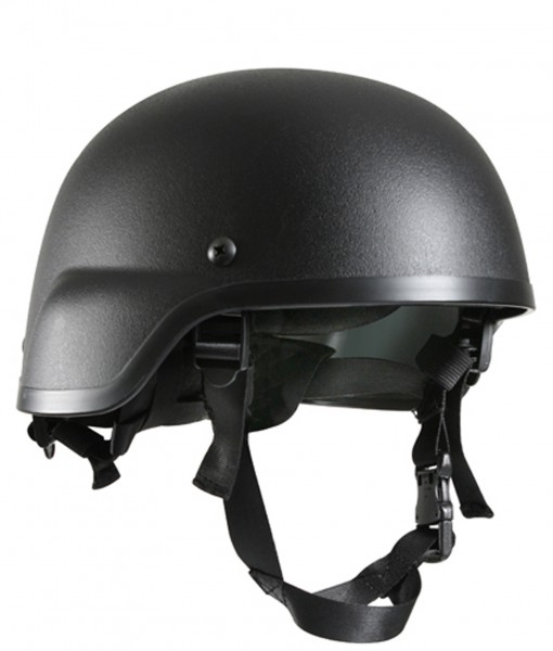 Black Tactical Helmet