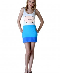 Women's Adventure Time Finn Tunic Tank