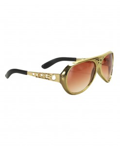 Classic Gold Elvis Glasses