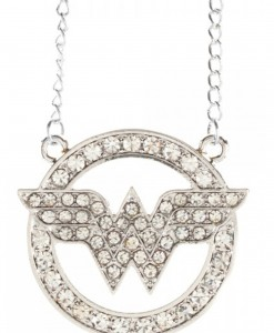 DC Comics Wonder Woman Bling Necklace