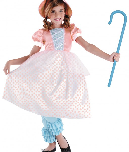 Girls Bo Peep Costume