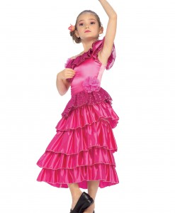 Child Pink Spanish Princess Costume
