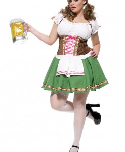 Plus Size German Beer Girl Costume