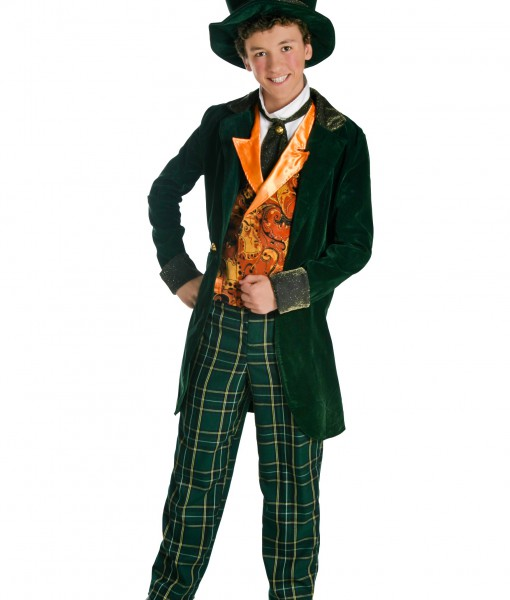 Deluxe Teen Mad Hatter Costume