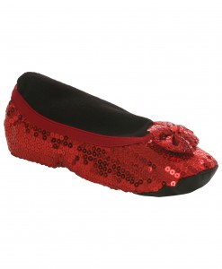 Adult Red Slippers