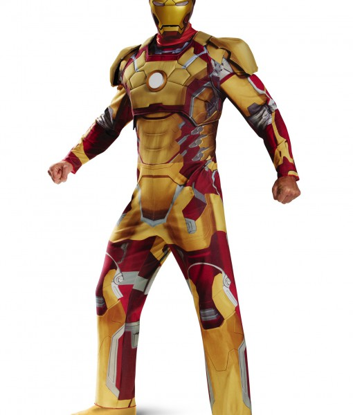 Plus Size Deluxe Iron Man Mark 42 Costume
