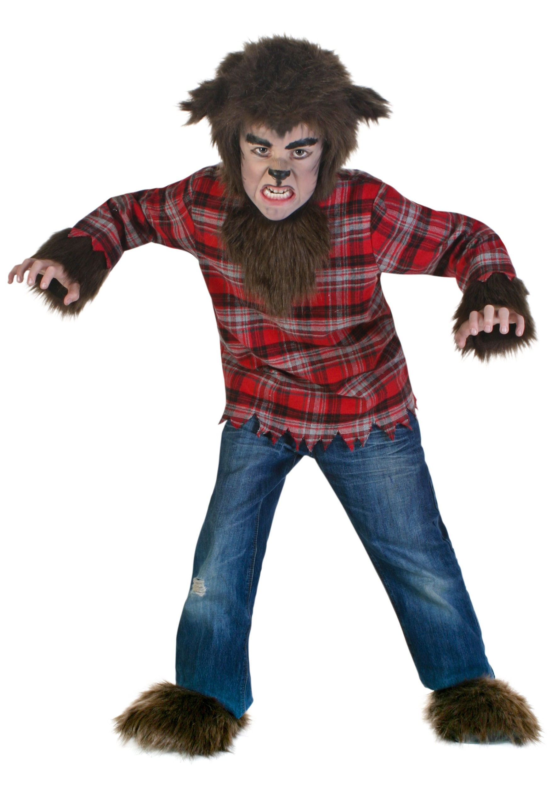 kids fierce werewolf costume - halloween costume ideas 2018
