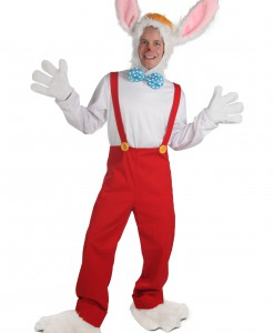 Plus Size Cartoon Rabbit Costume