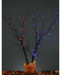 Light-Up Purple Creepy Branch