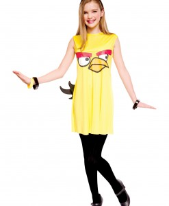 Angry Birds Tween Yellow Bird Costume