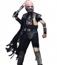 Deluxe Kids Battle Damaged Darth Vader Costume
