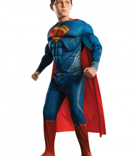 Deluxe Man of Steel Superman Child Costume