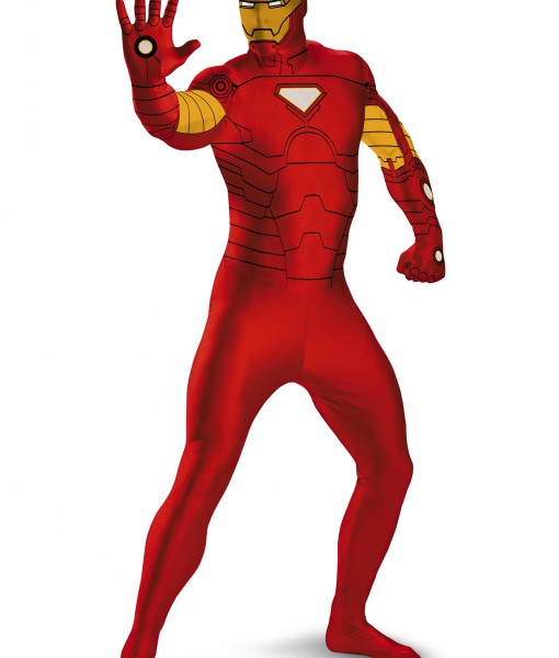 iron man bodysuit costume