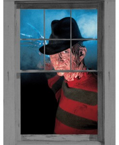 Freddy Krueger Window Cling