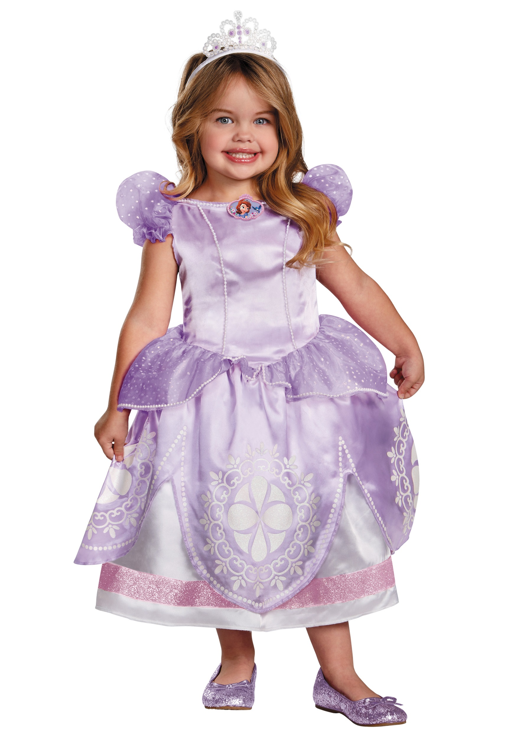 toddler sofia the first deluxe costume - halloween costume ideas 2018