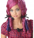 Pink / Purple Doll Curls Wig