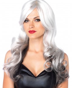 Grey and White Two Toned Wig