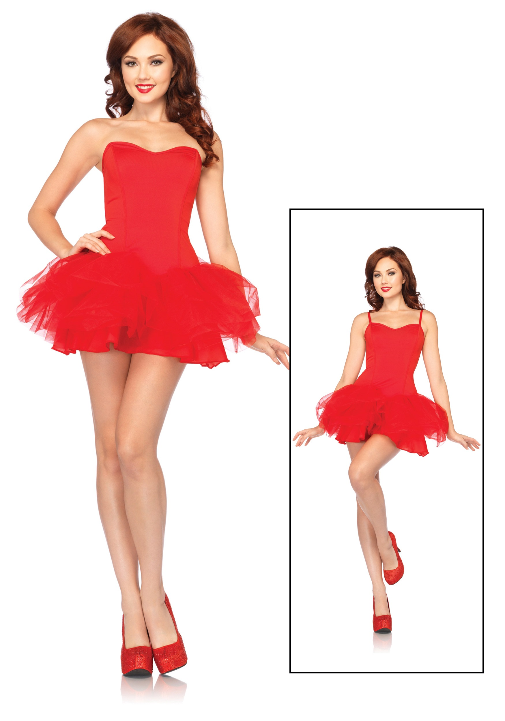 6220f4c1a533 Adult Halloween Costumes/Womens Halloween Costumes. Red Tutu Dress