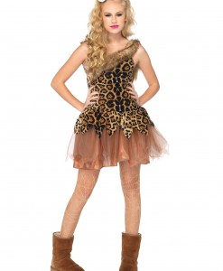 Teen Cave Girl Cutie Costume