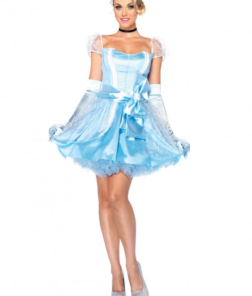 Womens Disney Glass Slipper Cinderella Costume