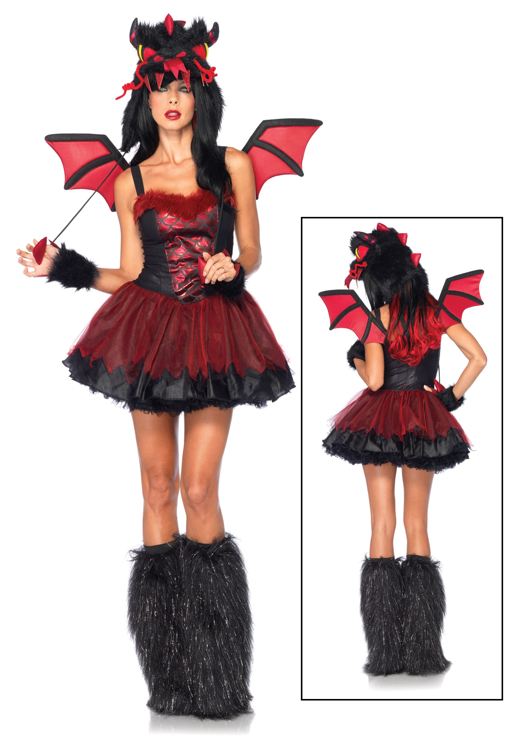 Sexy demon costumes