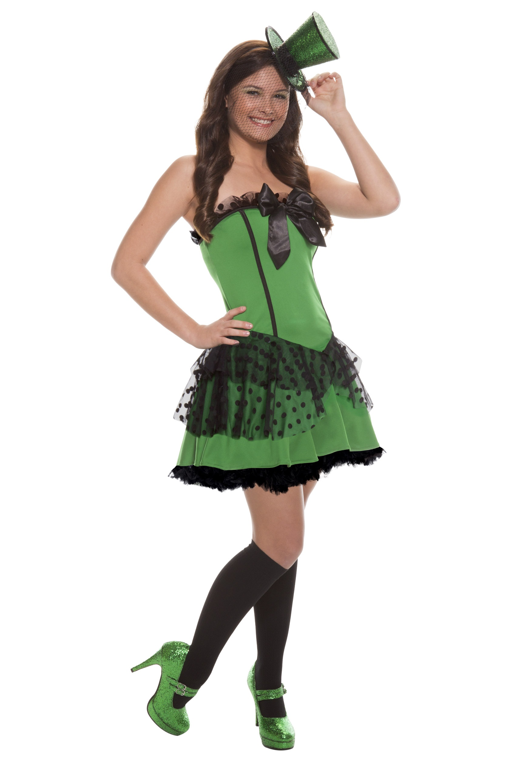 teen sassy leprechaun costume - halloween costume ideas 2018