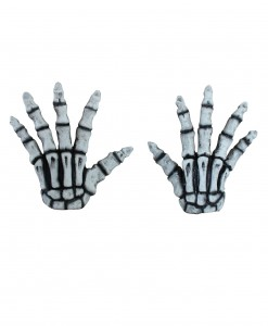 Adult White Skeleton Hands