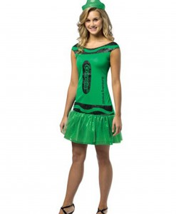 Women's Crayola Glitz Emerald Dress
