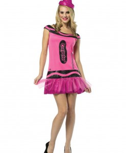 Womens Crayola Glitz Blush Dress